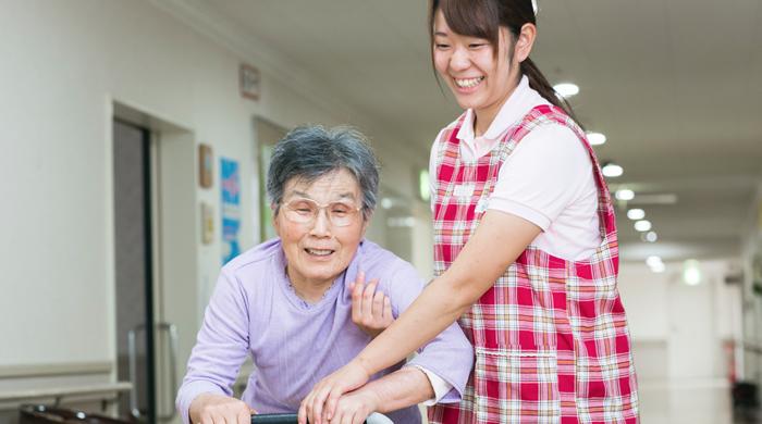特別養護老人ホームつばさの様子